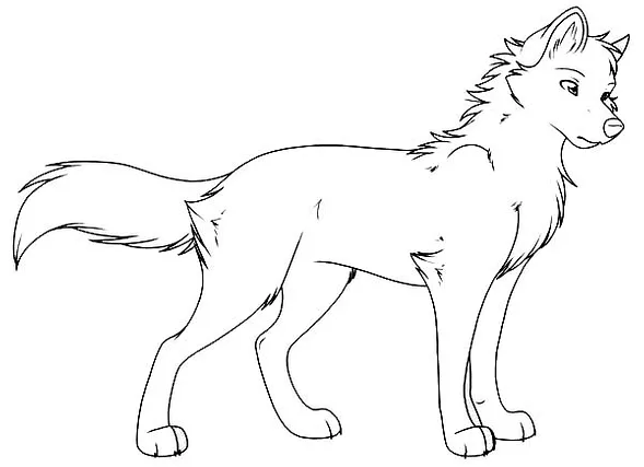 Cute Wolf Coloring Pages Kids Learning Activity Wolf Colors Puppy Coloring Pages Animal Coloring Pages