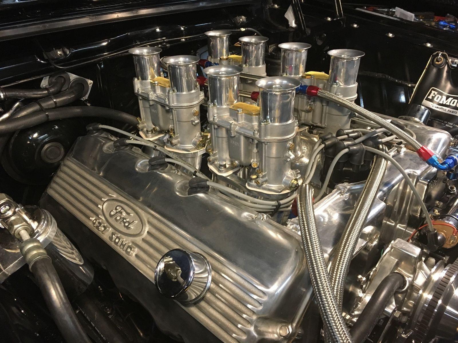 427 Sohc Ford Engine 504ci Aluminum Block Weber Intake Payment
