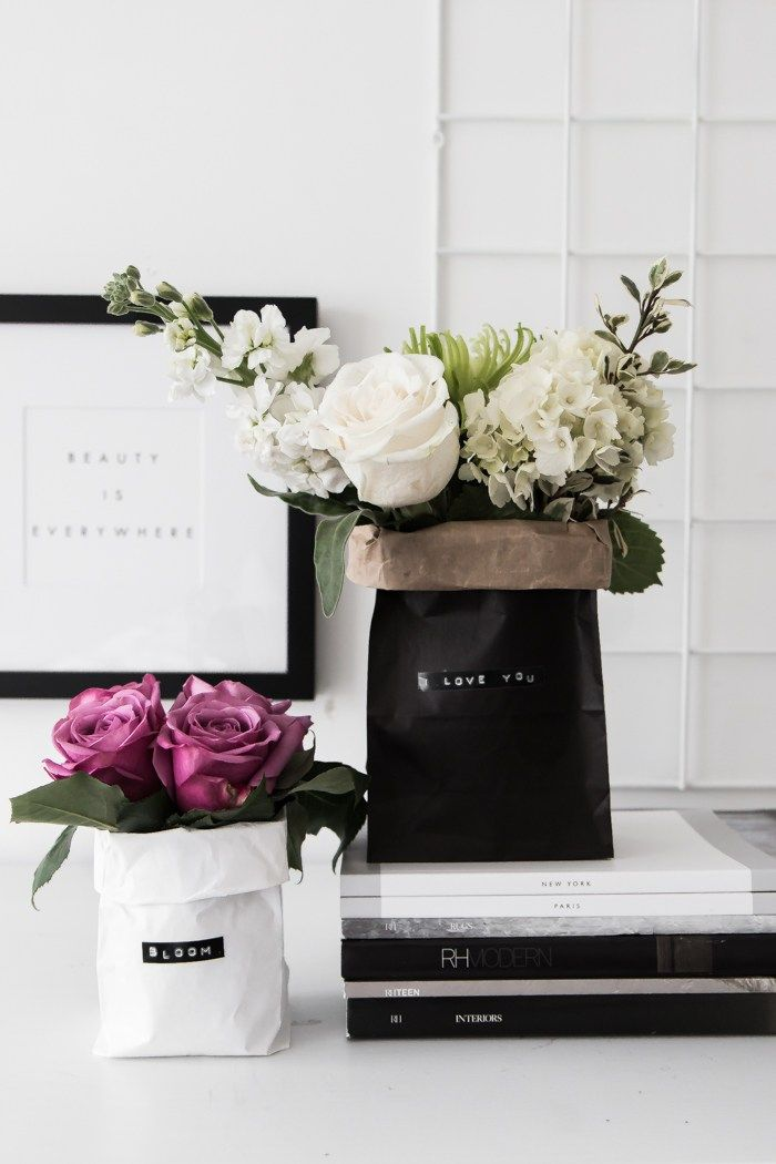 Diy Paper Bag Bouquets Diy Paper Bag Paper Bag Flowers Diy Bouquet