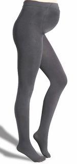 8186ec0624ee4 Plush Maternity Grey Extra Soft Fleece-Lined Footed Tights | | NEYVA ...