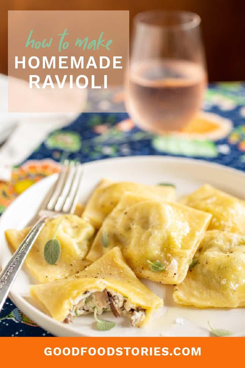 how to make pasta ravioli