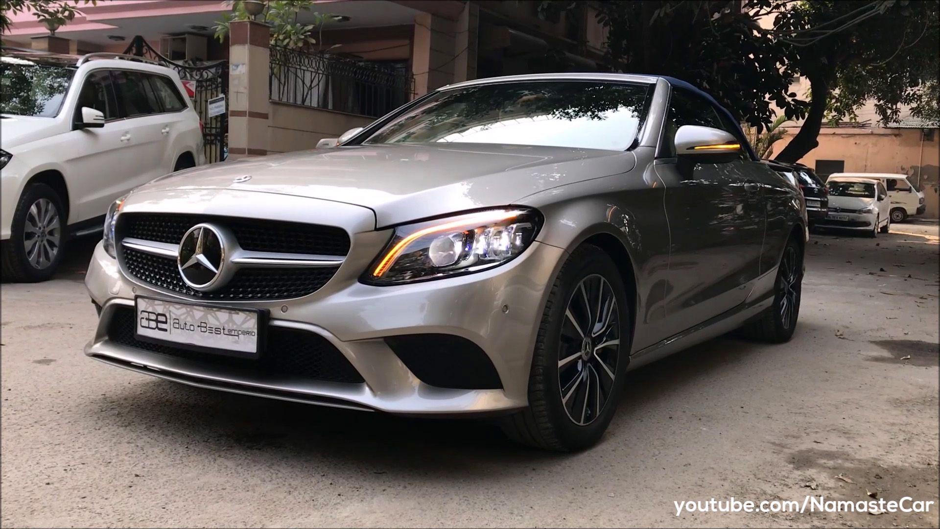 Mercedesbenzcclass Cclass Mercedesbenzindia Convertible