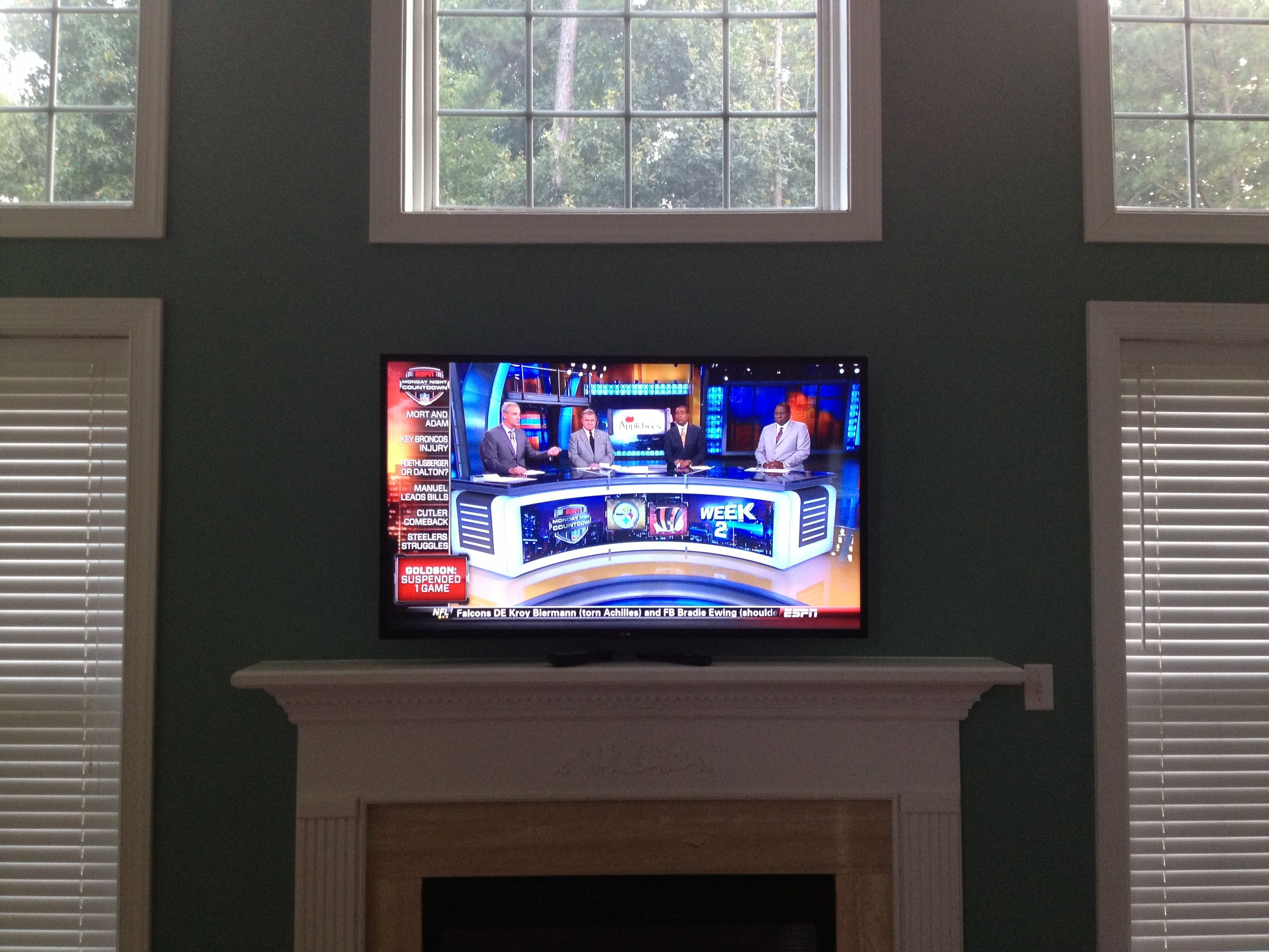 Charlotte Home Theater Installation Projector Surround Wiring Tv Installing Mounting Flatscreen