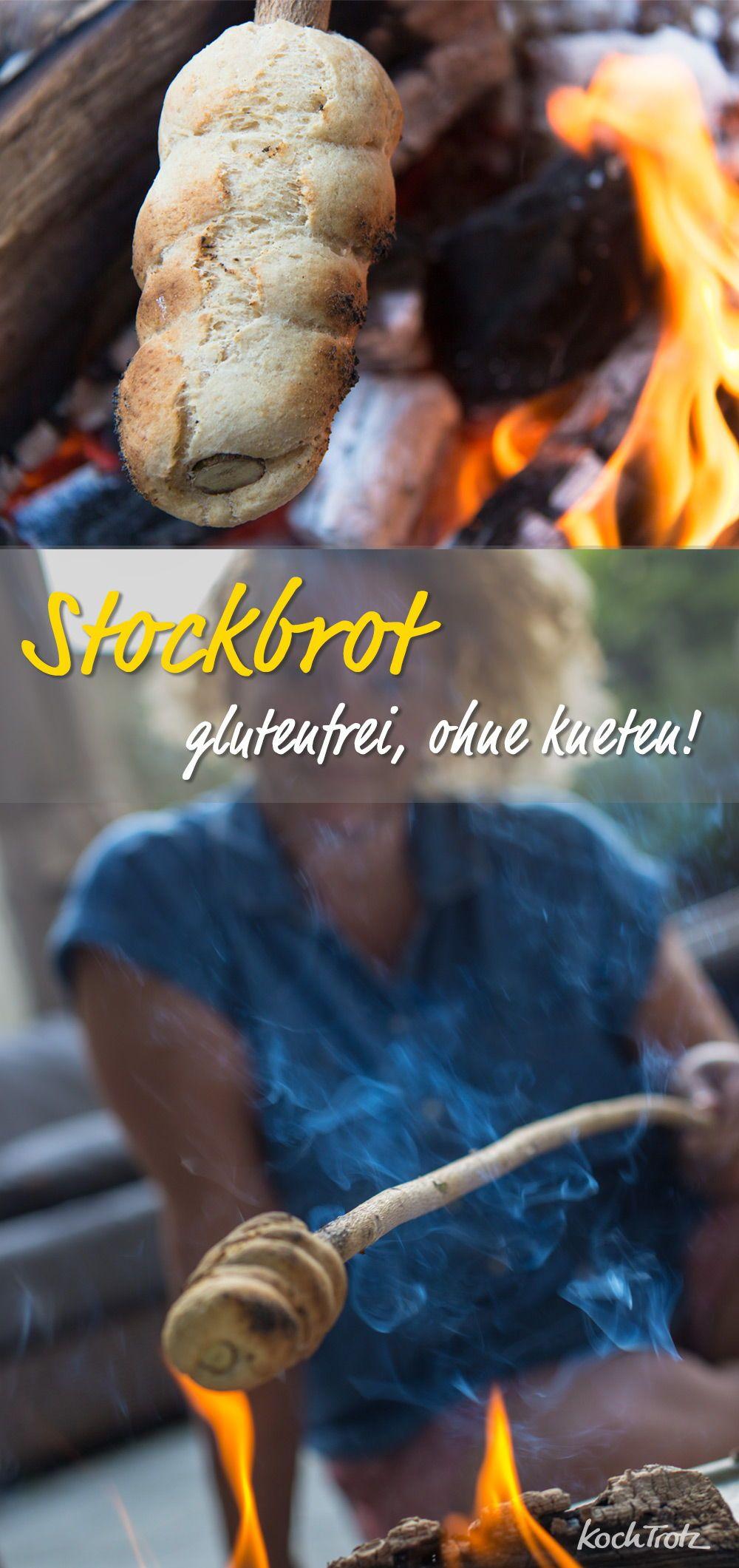 Glutenfreies Stockbrot Ohne Kneten Mit Wenig Hefe Rezept