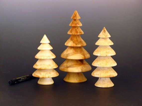 Christmas ornament 3 by turnedwoodbyVinny on Etsy, $2500 Wood - wood christmas decorations