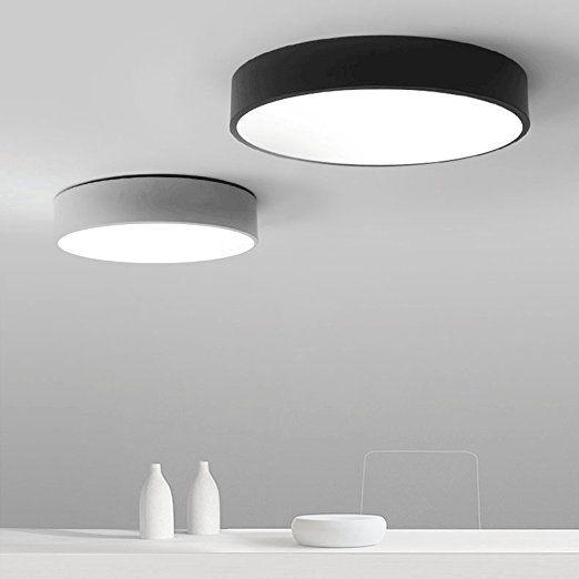 Moderne minimalistische LED-Deckenleuchten runden das Schlafzimmer - badezimmer deckenlampen led