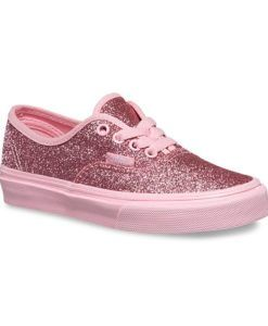 Vans | Pink Shimmer Authentic | Girls Shoes Your little girl will love  these sweet glitter