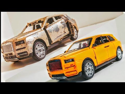 Photo of Restoration of Damaged Rolls Royce Cullinan – Luxury car Rolls Royce Model car restoration