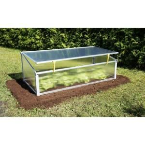 Cold Frame With Dual Purpose Screen Or Polycarbonate Lid Year Round At The Home Depot