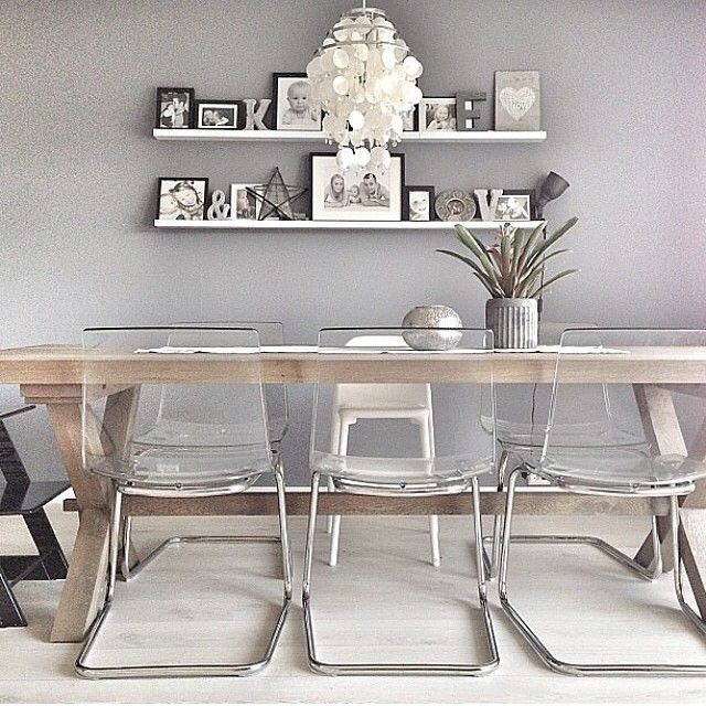 Tobias Chair From Ikea What A Good Way To Get More Light In A Room Dining Room Inspiration Home Living Room