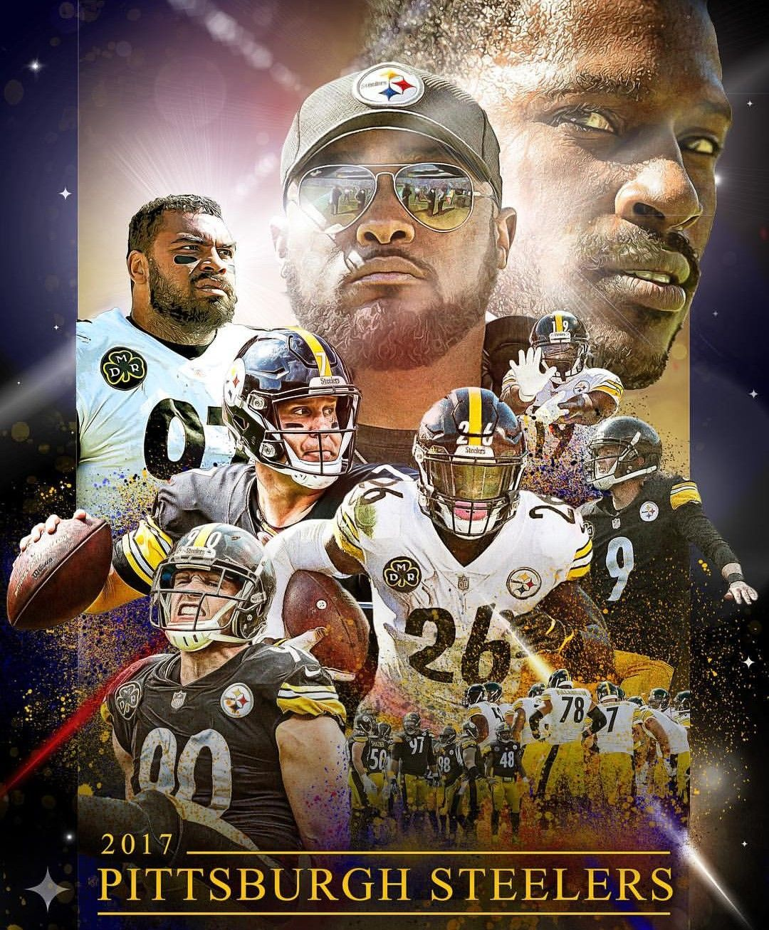 City of Champions Pittsburgh steelers football, Steelers