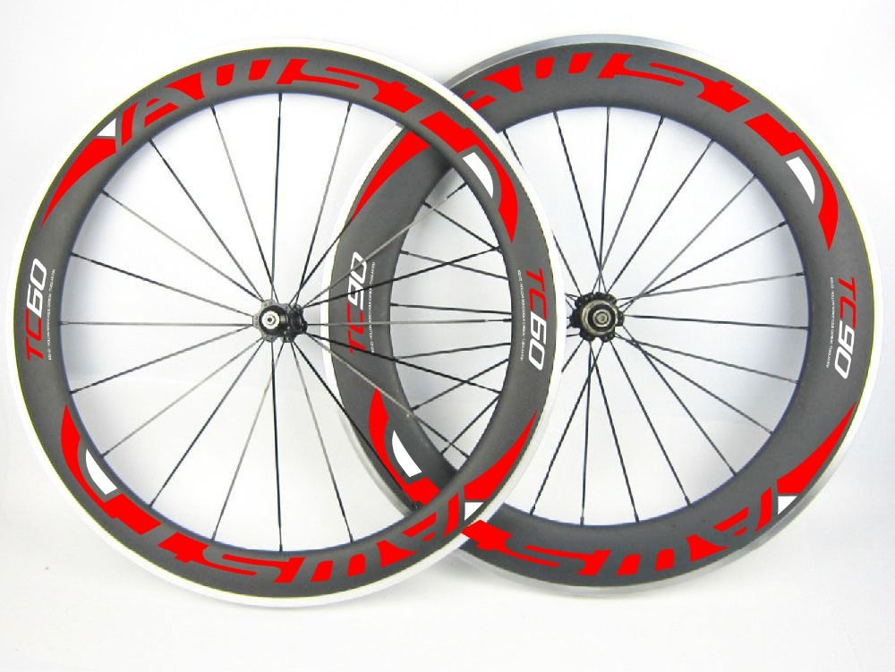 700c Carbon Road Wheel 60mm Front And 90mm Rear Clincher Wheelset Carbon Bike Road Alloy Wheels 90mm Cycling Rims Road Bike Wheels Bike Wheel Bicycle Rims