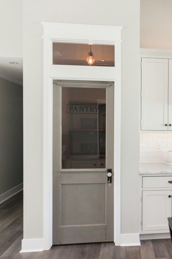 Vintage Gray Pantry Door By Rafterhouse, Phoenix, AZ