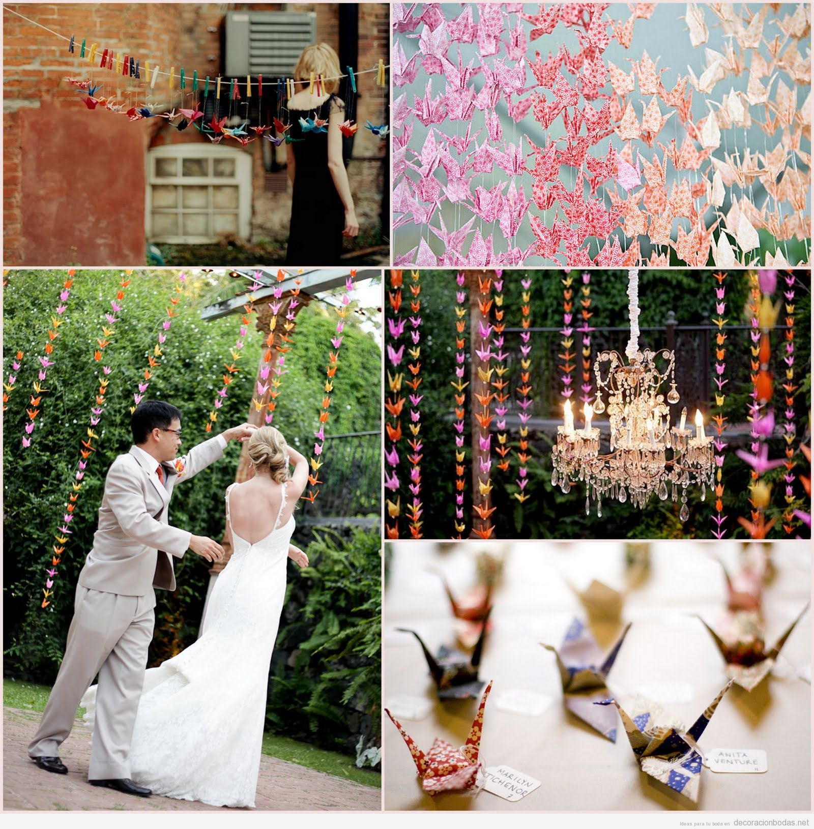 Paper Crane Wedding Cranes In A Symbolize Love Longevity And Two Other Things