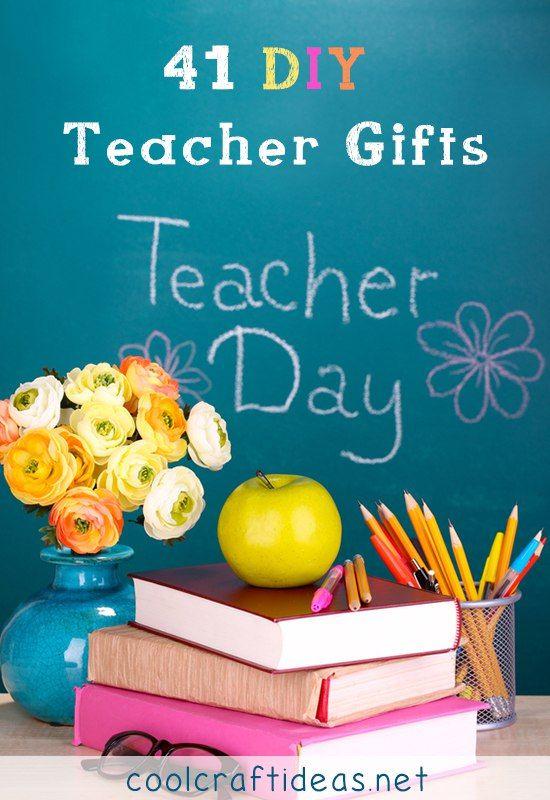 41 DIY Teacher Gifts | Cool Craft Ideas