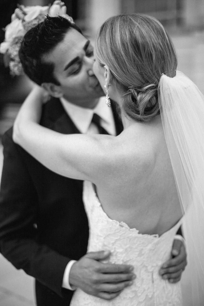 Sweet moment during bride and groom portraits #nashvillewedding #schermerhornsymphonycenter #frenzelstudios  #destinationwedding #nashvilleweddingvenue www.frenzelstudios.com