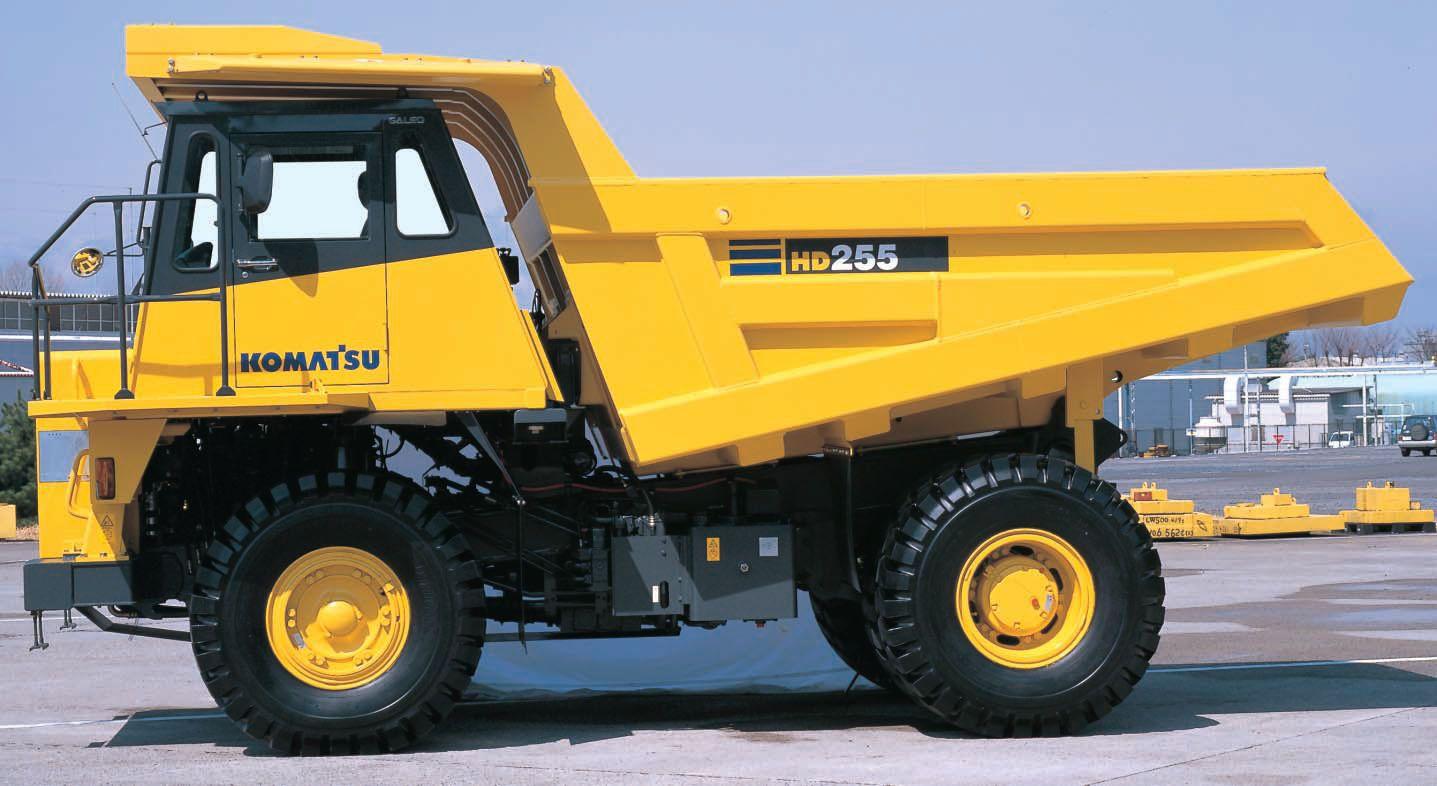 Komatsu HD255-5 Dump Truck Service Repair Manual SN 1001-Above