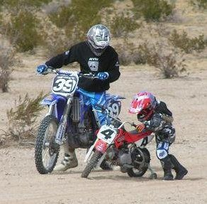 i was riding dirtbikes before i could even ride a bike.