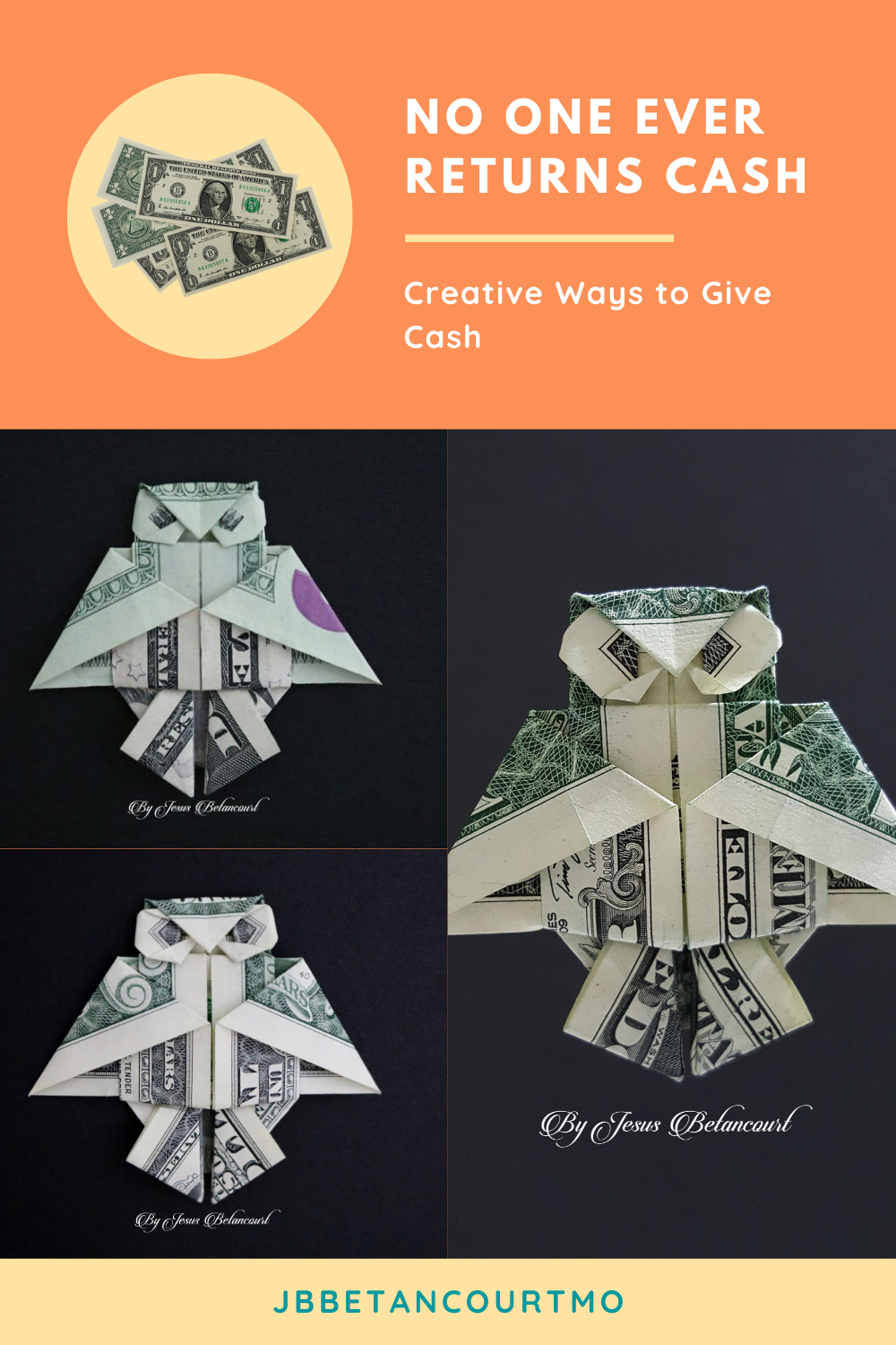 Awesome Of Diy Origami Owl Amazing Tutorial YouTube | Dollar bill origami, Money  origami, Origami design | 1500x1000