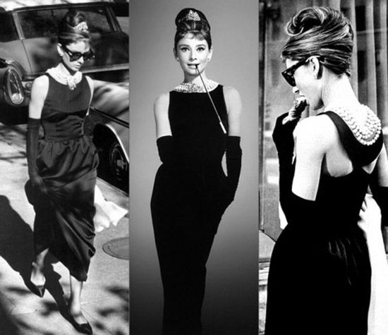Audrey Breakfast At Tiffany S Dress Black Dress Style