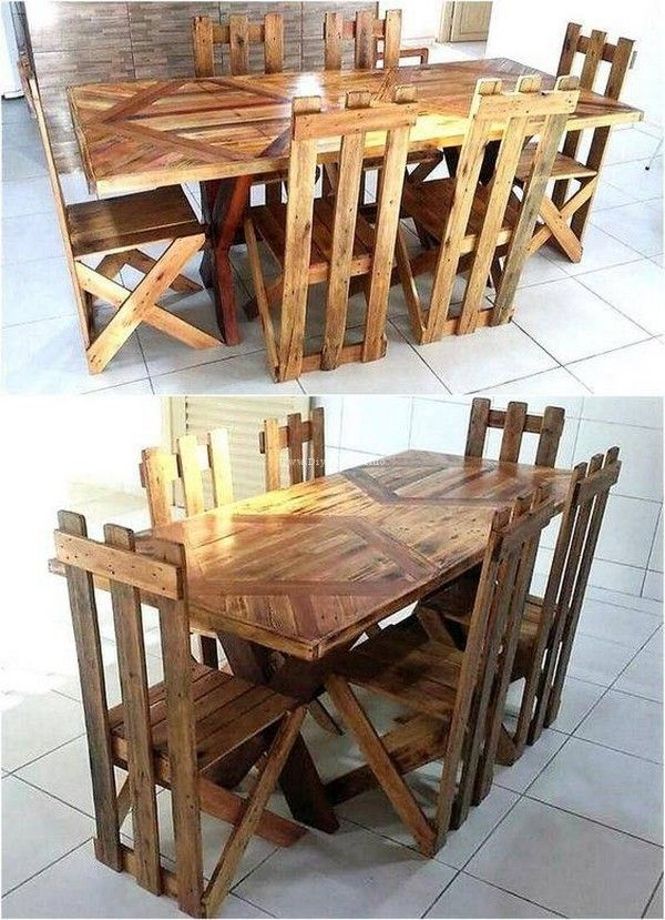 USEFUL AND FANCY DIY PLANS FOR RECYCLING PALLETS Pallet ideas - ideas con tarimas