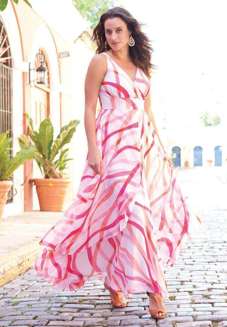 Plus size long maxi dresses 5 best outfits | Plus size ...