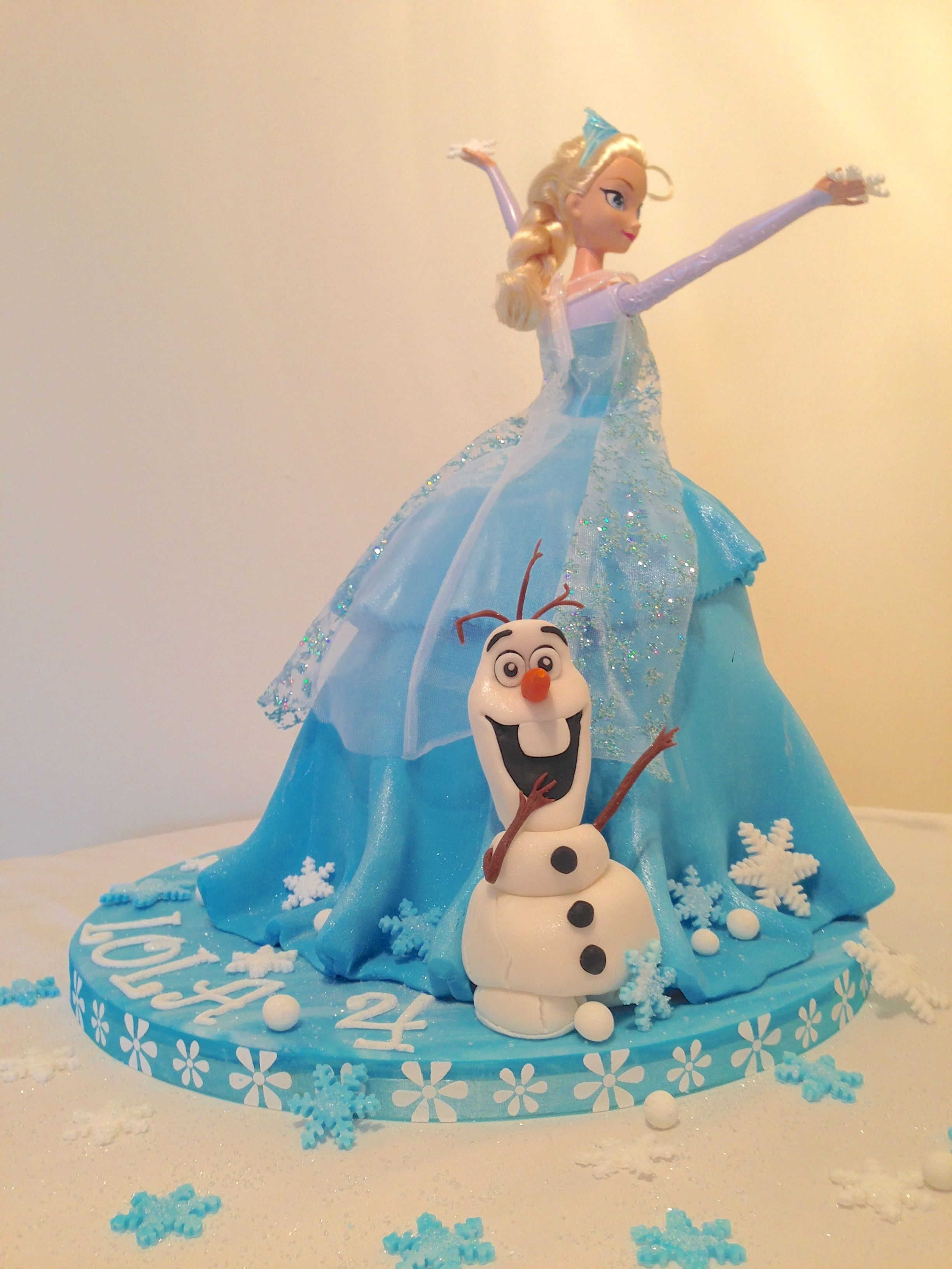Frozen with Elsa and Olaf