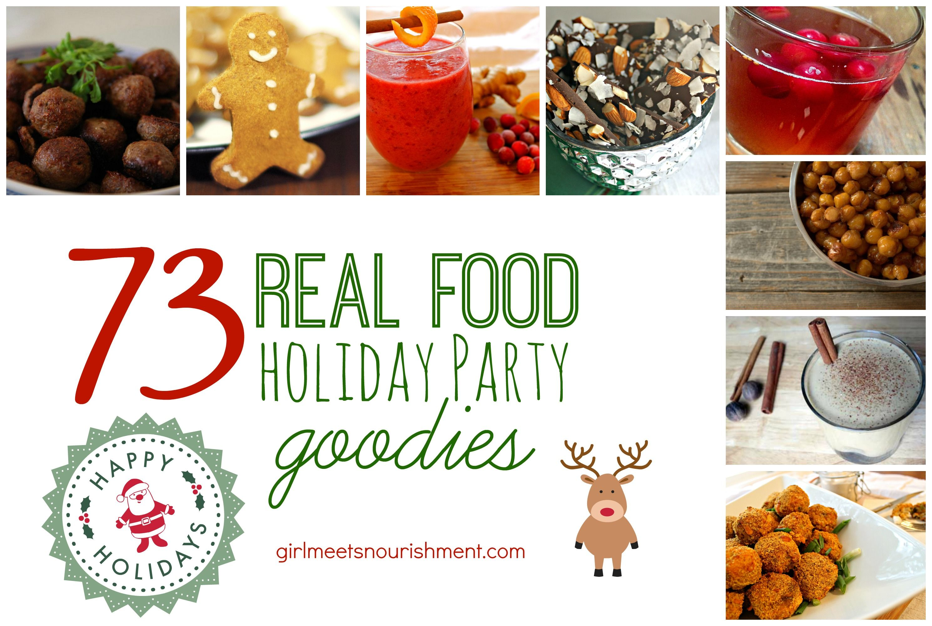 73 Real Food Holiday Party Goodies