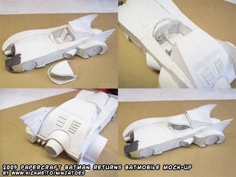 Batman Pinewood Derby Car Templates Printable