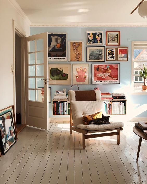 Todas As Formas De Montar Sua Gallery Wall Com Imagens