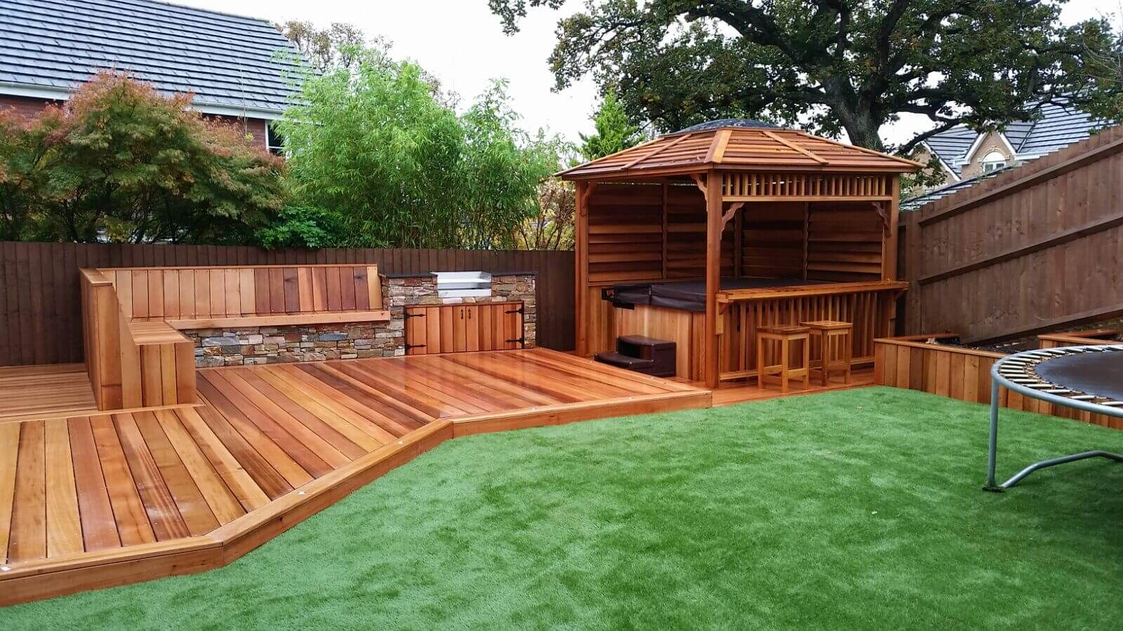 17+ Wonderful Garden Decking Ideas With Best Decking Designs ...