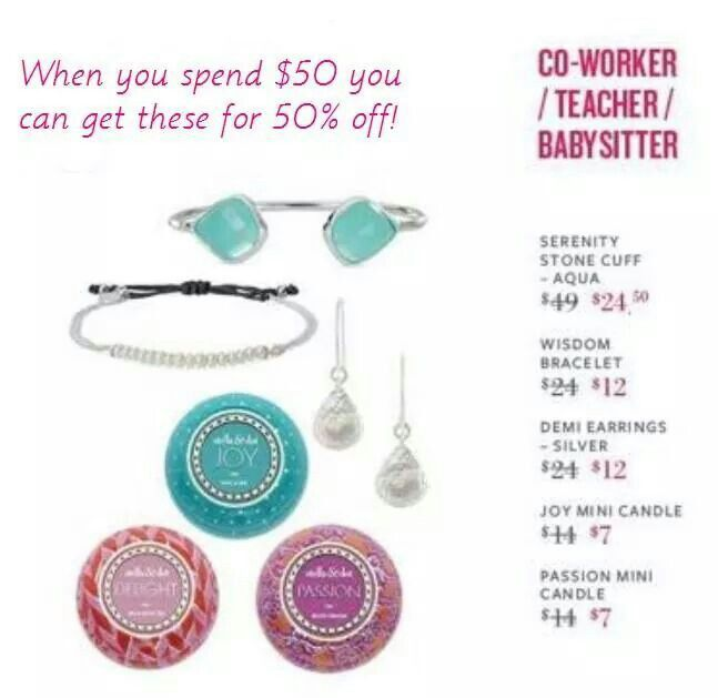 More to save on when you shop or host a trunk show in December!!! Unlock these savings when you spend $50!! So many great gift ideas, we have you covered!!  www.stelladot.com/candita