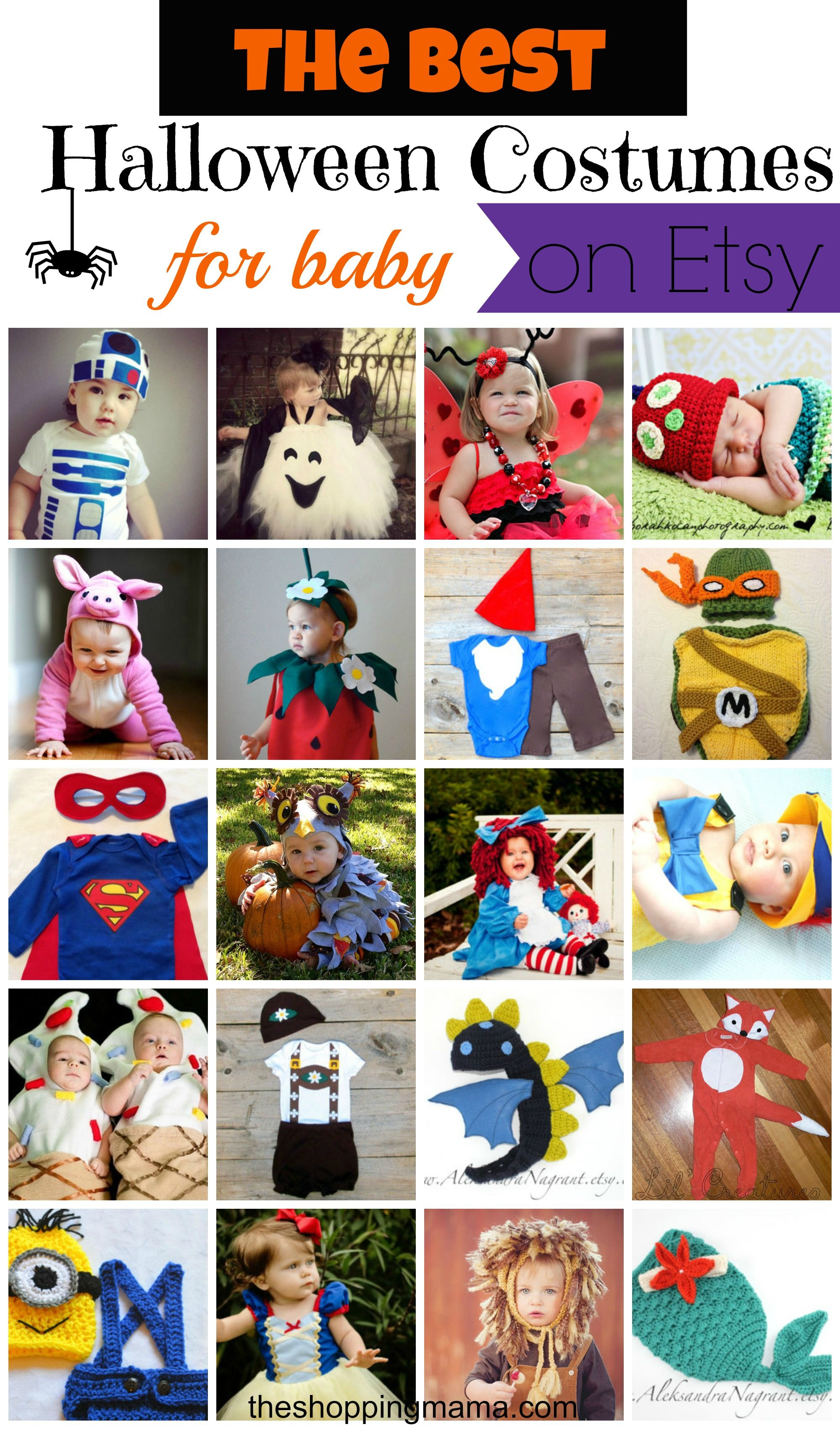 The Best Halloween Costumes for Baby (on Etsy Diy