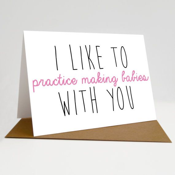 Anniversary card Funny quoteI really like you Blank inside Valentines Day Card Birthday card Sioux Alice