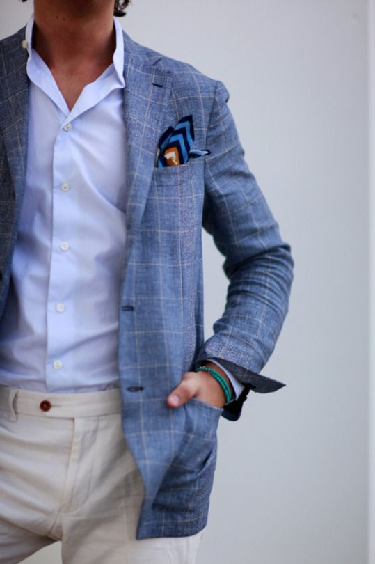 Checked sport coat for summer worn by Herman Byström | New Work ...