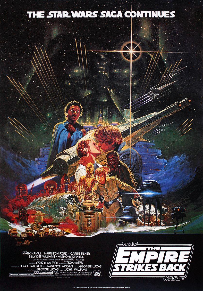 Star Wars Poster Empire Strikes back