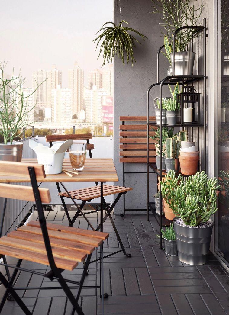 Las Mesas De Jardín Ikea Que Son Plegables Resultan Las Más