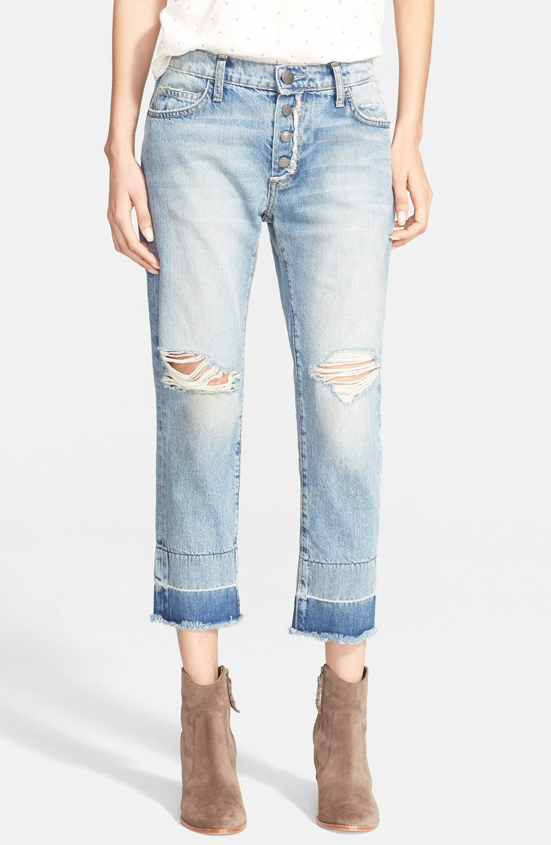 skinny cropped jeans - Blue Current Elliott OfQFSiTR3s