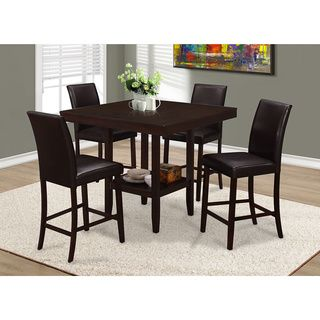 Simple Living Counter Height 5Piece Table And Chair Set Unique Height Dining Room Table Inspiration Design