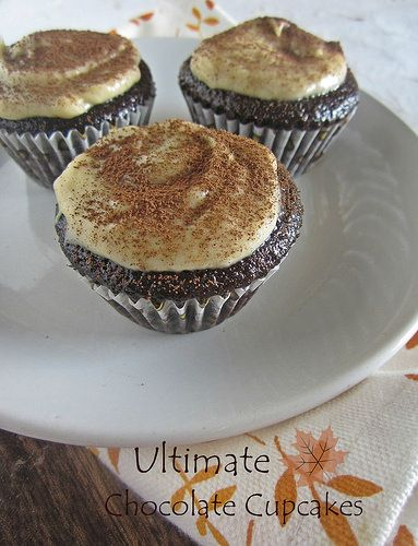 Ultimate Chocolate Cupcakes with Coffee Buttercream