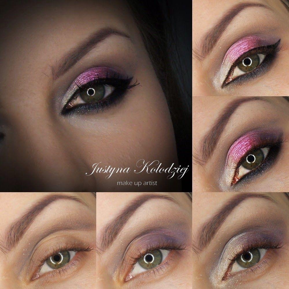 Vipera Cosmetics step by step z paleta swiateczna Makeup