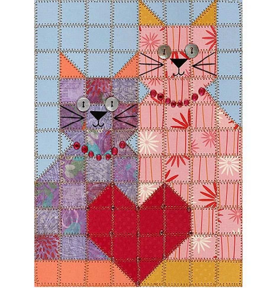 Kitty Quilt Sewing For Mom Pinterest Kitty