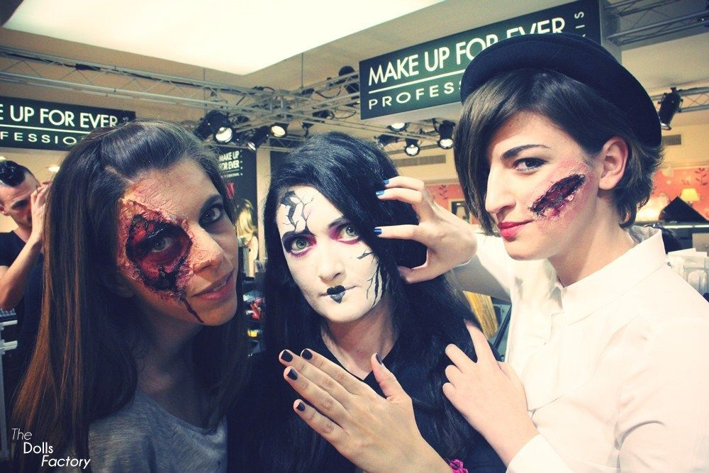 make up for ever halloween make up