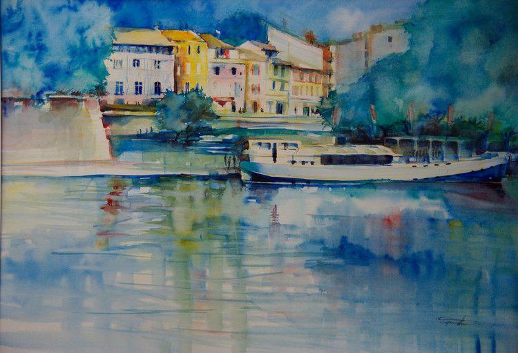 Corinne Izquierdo Aquarelliste Aix En Provence Aquarelliste
