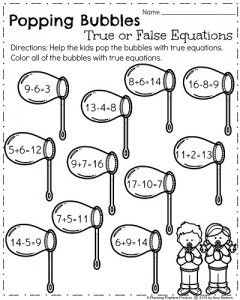 First Grade Worksheets For Spring Planning Playtime First Grade Worksheets Spring Math Worksheets First Grade Math
