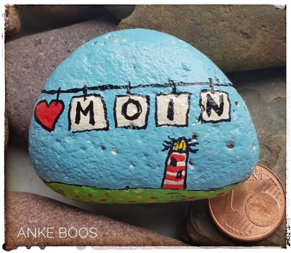 Bemalter Stein #Steinebemalen #Steine #Stones #bemalterStein #paintedrock #paintedrocks #pebbleart #Elbstones #paintesstones #Glücksbringer #mutmacher #glück #luck #blume #blumen #blümchen #flowers #sun #sonne #Malwasanderes #bemaltesteine