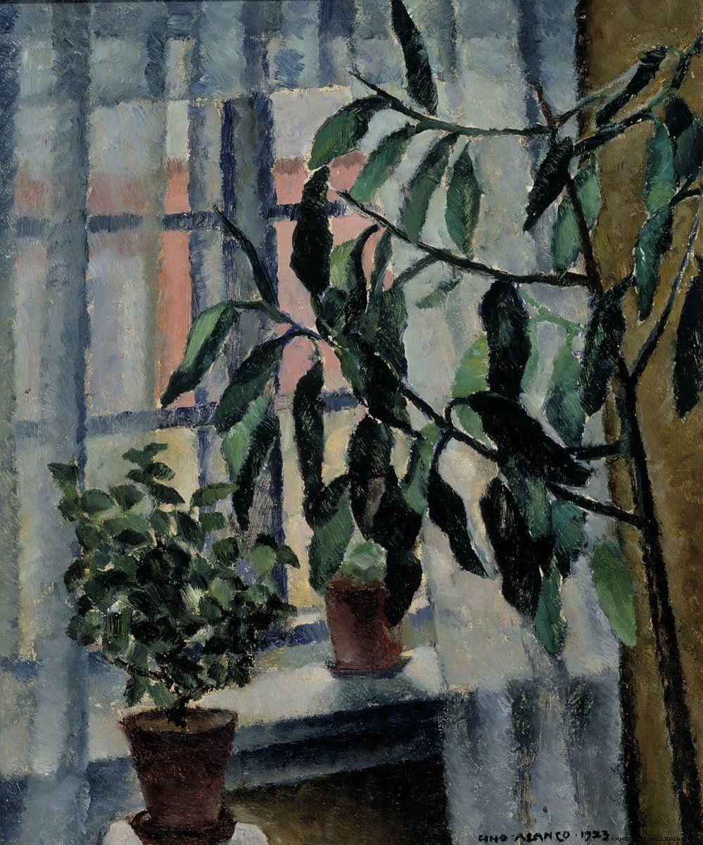 Uuno Alanko (Finnish, 1878-1964) - India-Rubber Tree, 1923 - Finnish National Gallery