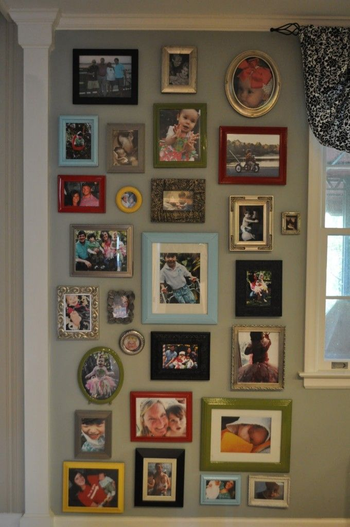 50 Gallery Wall Ideas And Photo Wall Inspirations Frames On Wall Picture Wall Gallery Wall