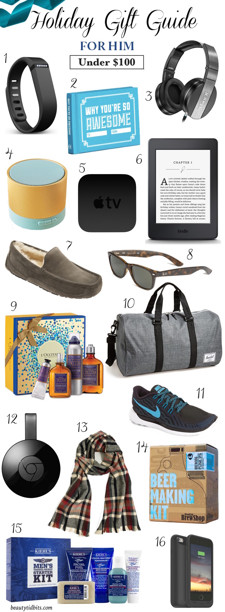 16 Holiday Gifts Your Man Will Love And Actually Use