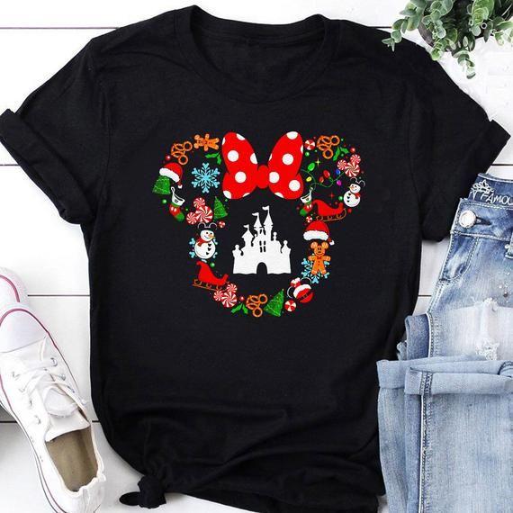 Disney Christmas Shirt, Cute Christmas Disney Vaca